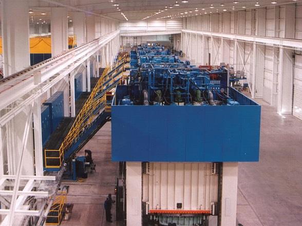 Industrial Hydraulic Press System