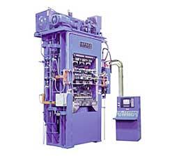 Heated Platen Molding Press