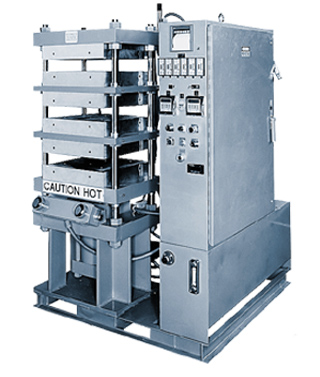 Multiple Heated Platen Bonding Press