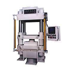 Hot platen vacuum press