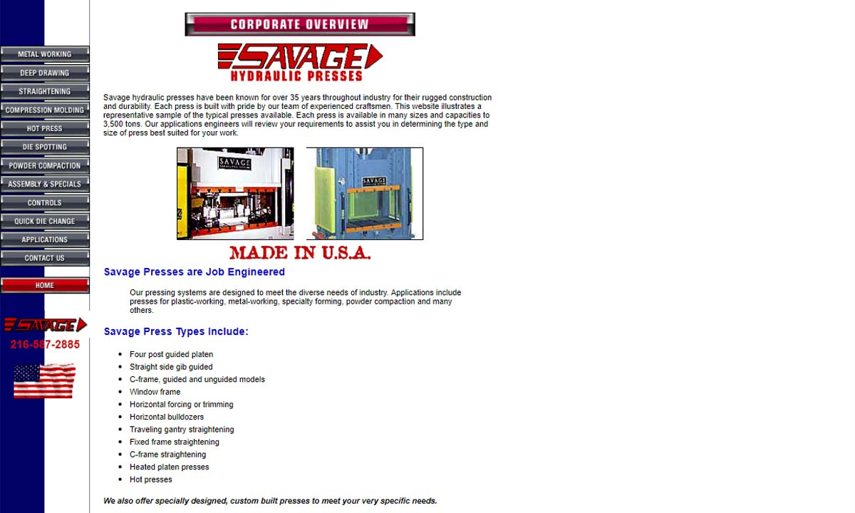 Savage Engineering & Sales, Inc.