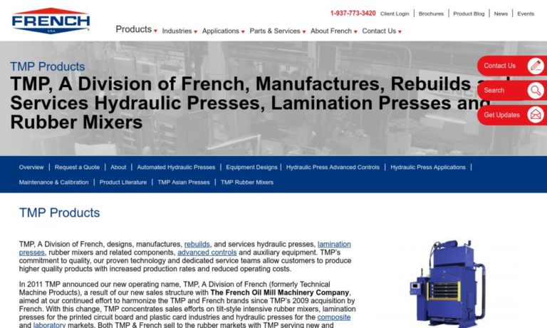 French Oil Mill Machinery Company