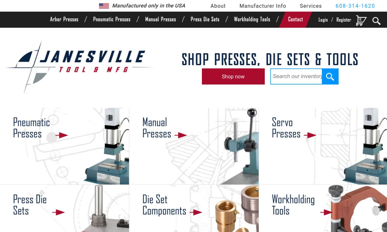 Janesville Tool & Manufacturing, Inc.
