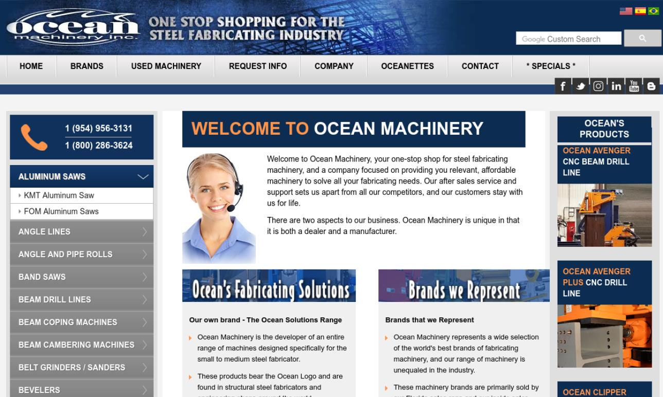 Ocean Machinery Inc.