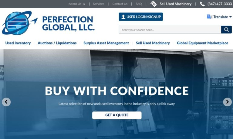 Perfection Machinery Sales, Inc.