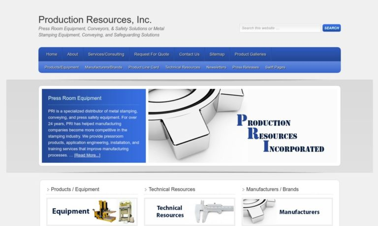 Production Resources, Inc.
