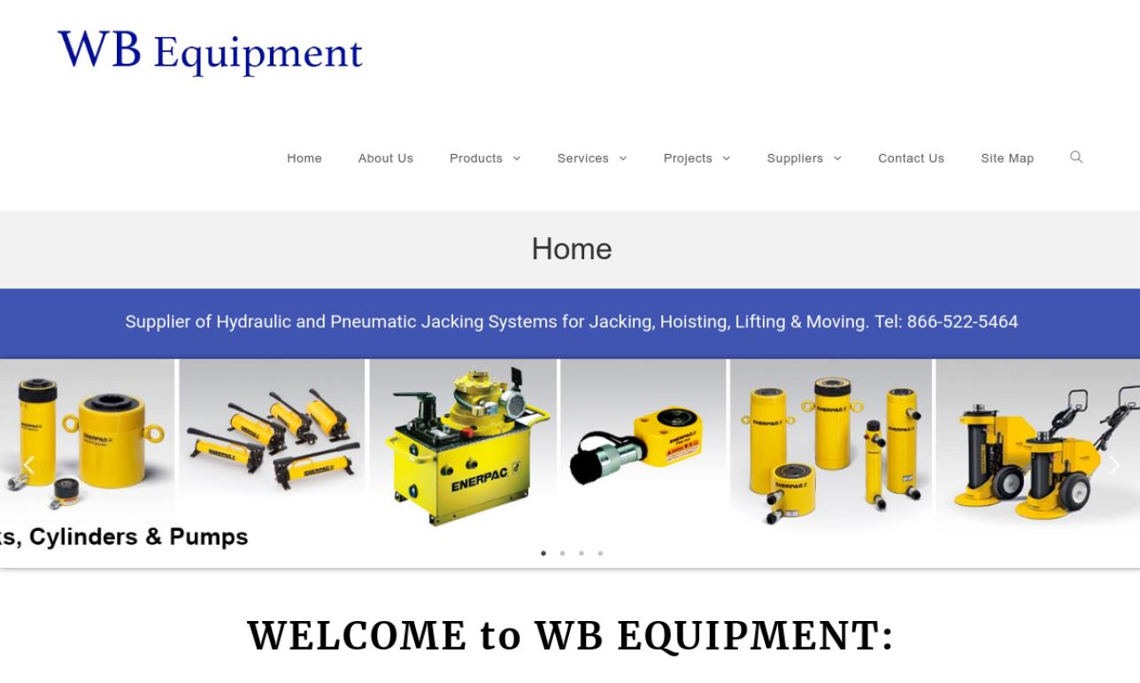W.B. Equipment Service Company, Inc.