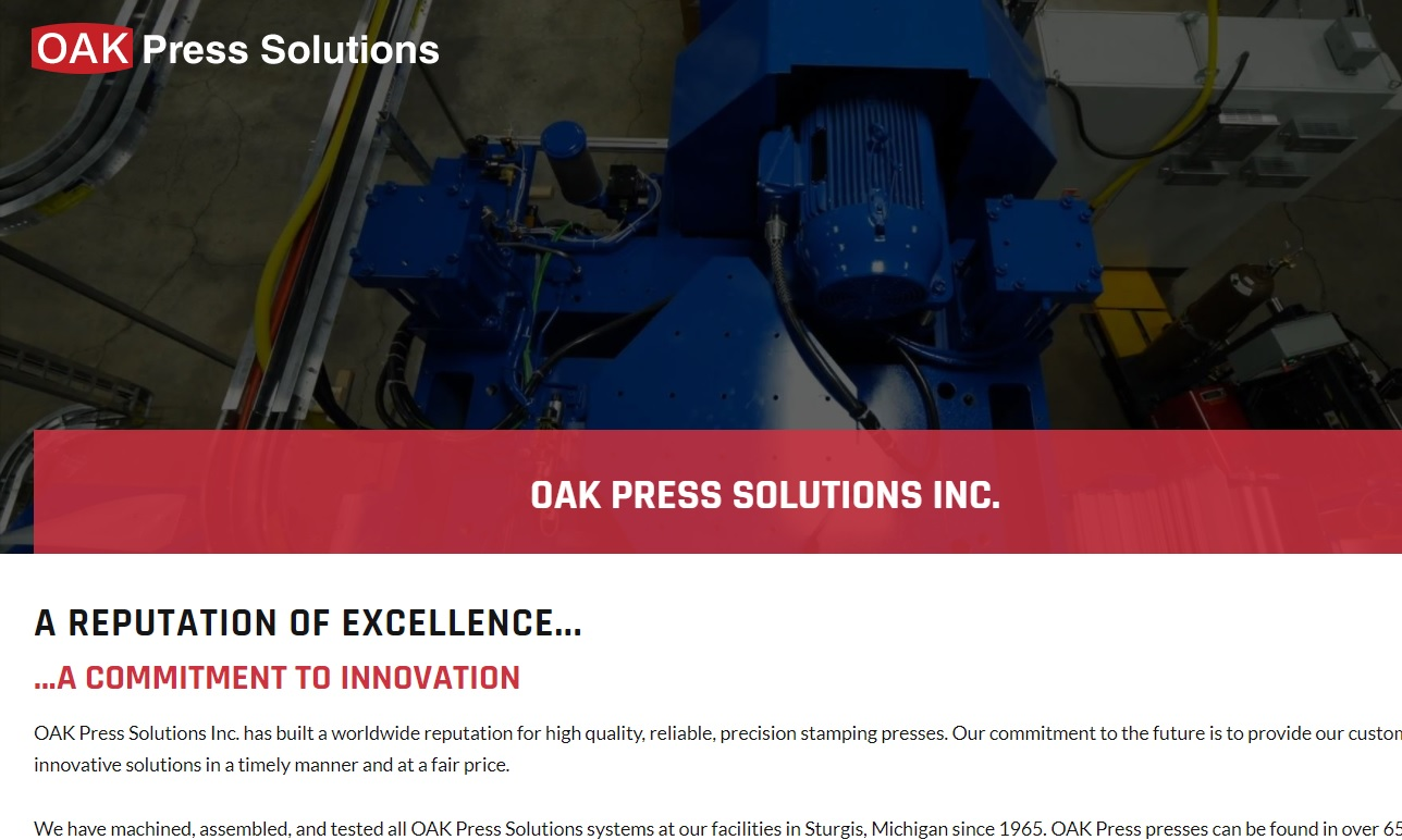 Oak Press Solutions Inc.
